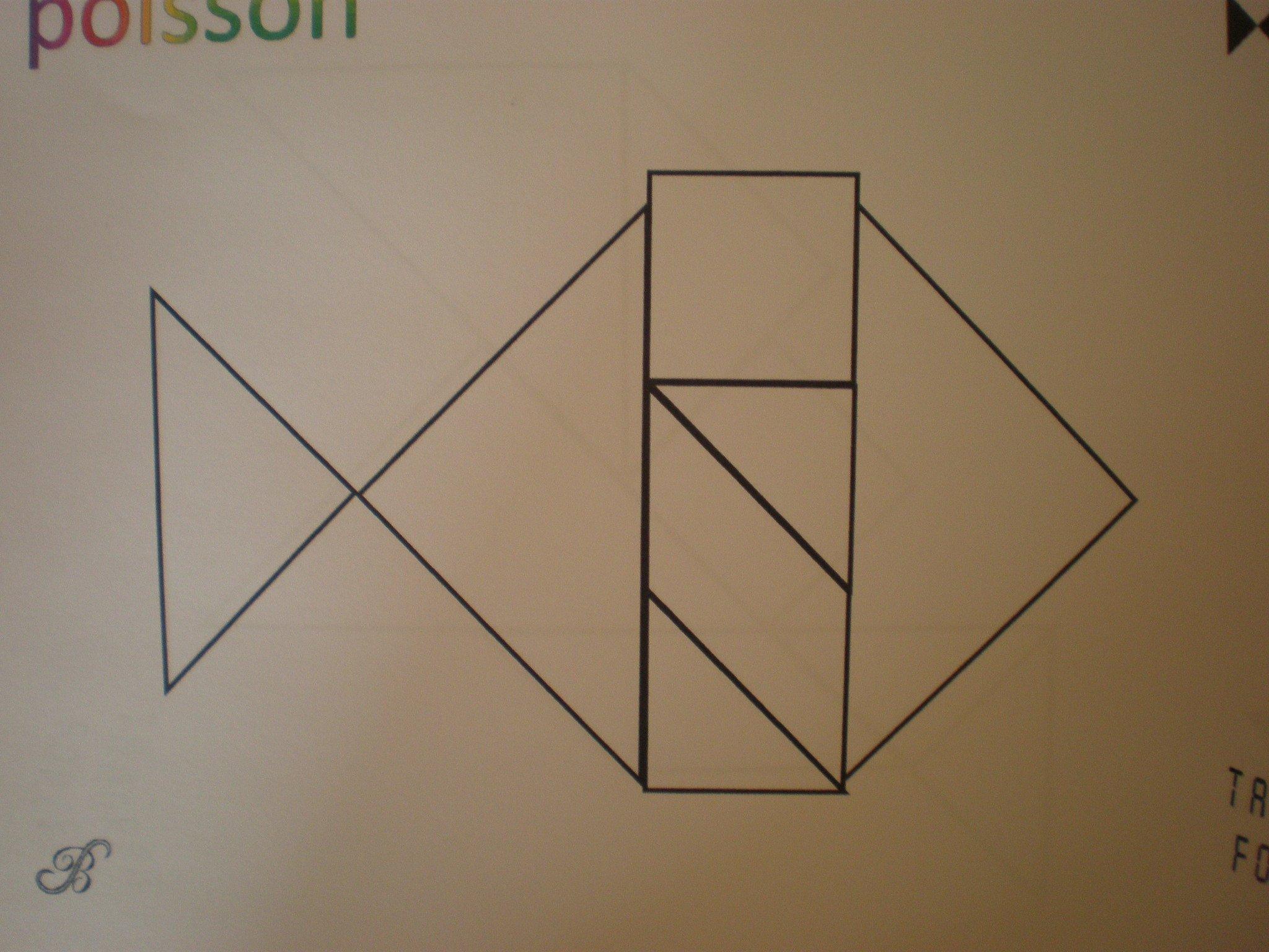 modèle tangram maternelle